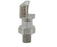 FLAT SPRAY NOZZLE, HIGH IMPACT QCD4